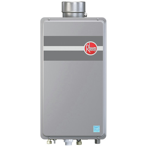 Rheem RTG-95DVLP-1 Direct Vent Low Nox Liquid Propane Tankless Water Heater for 2 - 3 Bathroom Homes