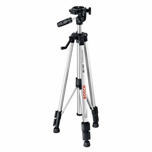 Factory Reconditioned Bosch BS150-RT 20 in. to 58 in. Professional Camera Style Tripod with Detachable Mounting Base