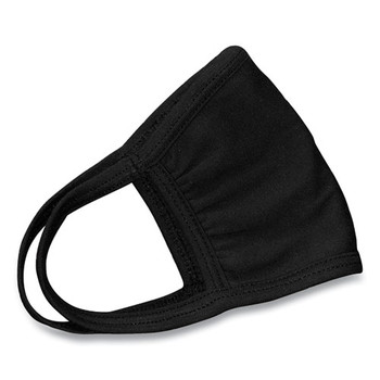 GN1 MK100SS-2 10-Piece Cotton Face Mask with Antimicrobial Finish - Black