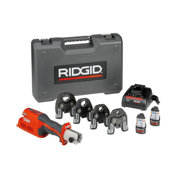 Ridgid 57363 RP 241 Press Tool Kit with 1/2 in. - 1-1/4 in. ProPress Jaws