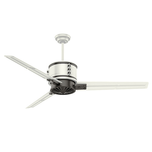 Casablanca 59192 Duluth  60 in. Fresh White with Granite Accents Indoor/Outdoor Ceiling Fan with Wall Control