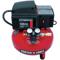 Factory Reconditioned Porter-Cable PCFP02003R 135 PSI 3.5 Gallon Oil-Free Pancake Compressor image number 2