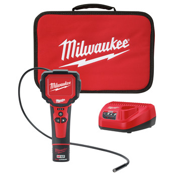 Milwaukee 2313-21 M12 Lithium-Ion M-SPECTOR 360 Rotating Digital Inspection Camera with 3 ft. Cable