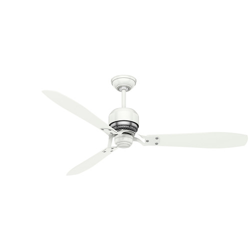 Casablanca 59503 60 in. Tribeca Snow White Ceiling Fan with Remote