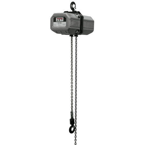 JET 1/2SS-3C-20 1/2 Ton Capacity 20 ft. 3-Phase Electric Chain Hoist