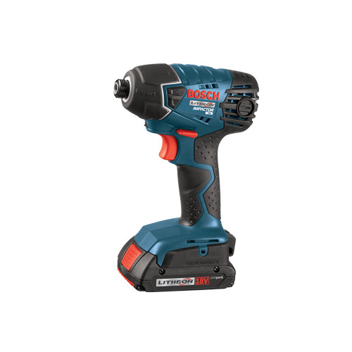 Bosch 25618-02 18V Cordless Lithium-Ion 1/4 in. Impact Driver with SlimPack Batteries
