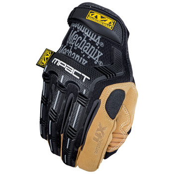 Mechanix Wear MP4X-75-009 Material4X M-Pact Heavy-Duty Impact Gloves - Medium 9, Tan/Black
