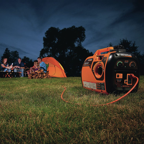 Generac 6866-6883BNDL Portable Inverter Generator with 50 ft. Power Cord Reel image number 15