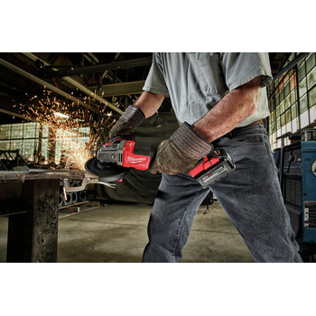 Milwaukee 2980-20 M18 FUEL 4-1/2 in. - 6 in. Braking Grinder with No-Lock Paddle Switch (Tool Only) image number 7