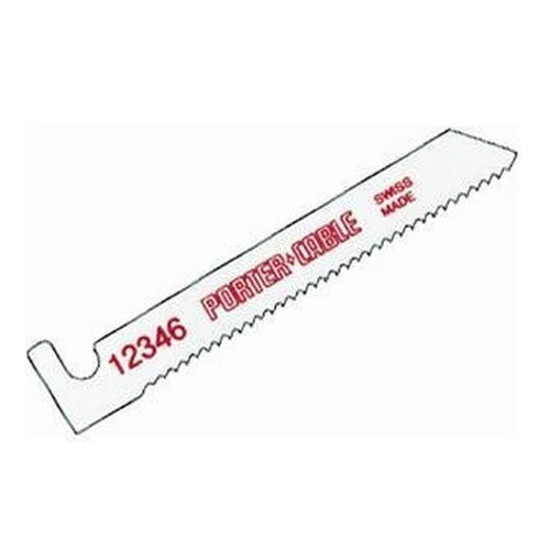 Porter-Cable 12346-5 3 in. 14 TPI Bi-Metal Hook Shank Bayonet Saw Blade (5-Pack)