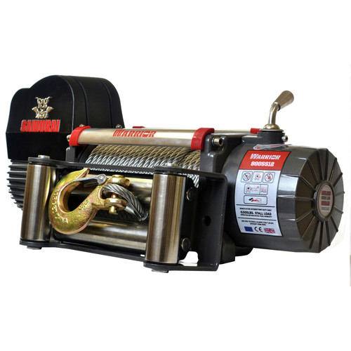 Warrior Winches S8000 8,000 lb. Samurai Series Planetary Gear Winch image number 0