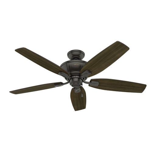 Hunter 53376 52 in. Kenbridge Noble Bronze Ceiling Fan with Light image number 0
