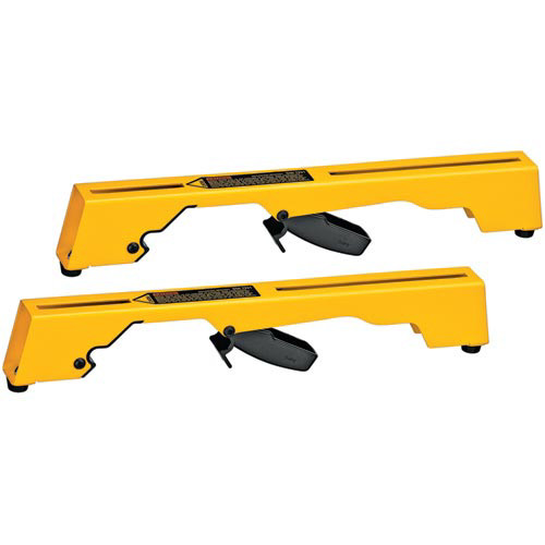 Dewalt DW7231 Miter Saw Workstation Tool Mounting Brackets for DW723 image number 0
