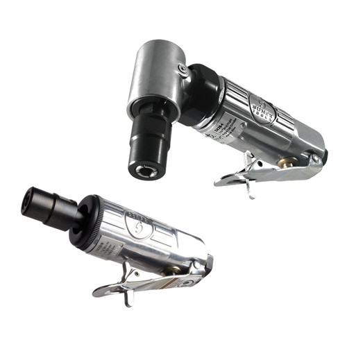 Sunex SX2PK 2-Piece Right Angle & Straight Air Die Grinder Set