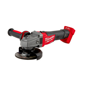 Milwaukee 2781-20 M18 FUEL Lithium-Ion 4-1/2 in. - 5 in. Slide Switch Grinder with Lock-On (Tool Only)