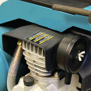 Factory Reconditioned Makita MAC5200-R 3.0 HP 5.2 Gallon Oil-Lube Wheeled Dolly-Style Air Compressor image number 9