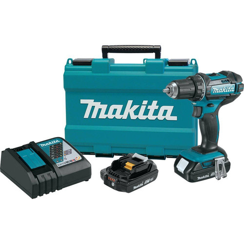 Factory Reconditioned Makita XFD10R-R 18V LXT Lithium-Ion 2-Speed Compact 1/2 in. Cordless Driver Drill Kit (2 Ah) image number 0