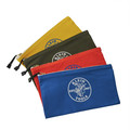 Klein Tools 5140 Canvas Zipper Bag Assortments, 12 1/2 in X 7 in, 4 per Pack image number 1