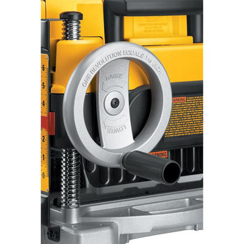 Dewalt DW735X 13 in.  Two-Speed Thickness Planer with Support Tables and Extra Knives image number 8