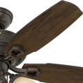 Hunter 52233 44 in. Ambrose Onyx Bengal Indoor Ceiling Fan image number 7