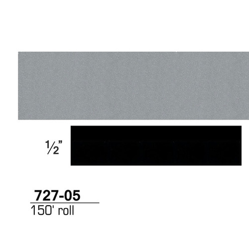 3M 72705 Scotchcal Striping Tape, Silver Metallic, 1/2 in. x 150 ft.