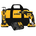 Dewalt DCK263D2 20V MAX XR Cordless Lithium-Ion Brushless Drywall Screwgun and Cut-Out Tool Combo Kit image number 0
