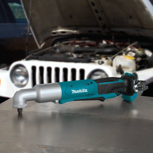 Makita LT02Z 12V MAX CXT Lithium-Ion Cordless 3/8 in. Angle Impact Wrench (Tool Only) image number 4