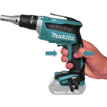 Makita XSF04Z 18V LXT Li-Ion Brushless Cordless Drywall Screwdriver (Tool Only) image number 3