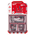 Milwaukee 48-32-4082 100-Piece Shockwave Impact Driver Bit Set with PACKOUT Low Profile Compact Organizer image number 0