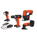 Black & Decker BDCK502C1 GoPak 4-Tool Combo Kit image number 1
