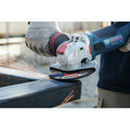 Bosch GWX10-45DE X-LOCK 4-1/2 in. Ergonomic Angle Grinder with No Lock-On Paddle Switch image number 2