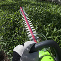 Greenworks 22262 40V G-MAX Lithium-Ion 24 in. Rotating Hedge Trimmer image number 6