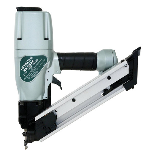 Hitachi NR65AK2S 2-1/2 in. Strap-Tite Fastening System Strip Nailer with Short Magazine