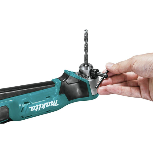 Makita AD03R1 12V max CXT Lithium-Ion 3/8 in. Cordless Right Angle Drill Kit (2 Ah) image number 7