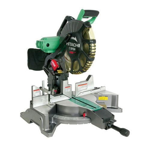 Hitachi C12FDH 12 in. Dual Bevel Miter Saw with Laser Guide (Open Box)