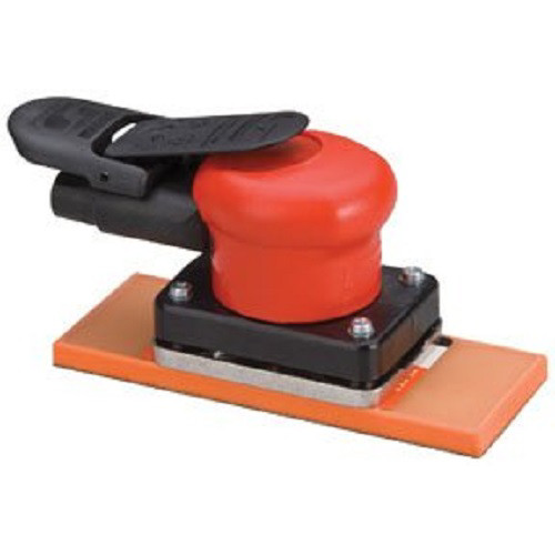 Dynabrade 10281 Dynabug II Non-Vacuum Air Orbital Sander with 2-3/4 in. 6-7/8 in. PSA Sanding Pad
