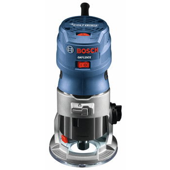 Factory Reconditioned Bosch GKF125CEK-RT 7 Amp 1.25 HP Variable Speed Palm Router