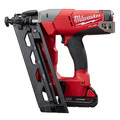 Milwaukee 2742-21CT M18 FUEL Cordless Lithium-Ion 16-Gauge Brushless Angled Finish Nailer Kit image number 1