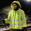 Makita DCJ206ZL 18V LXT Lithium-Ion Cordless High Visibility Heated Jacket (Jacket Only) - Large image number 5