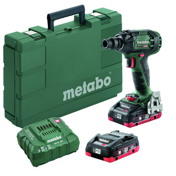 Metabo 602395520 SSW 18 LTX 300 Brushless 4.0 Ah Cordless Impact Wrench image number 0