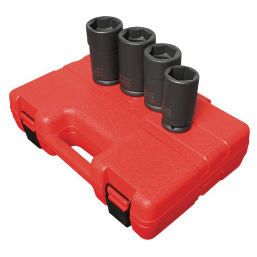 Sunex 4626 4-Piece 3/4 in. Drive Combination Budd Wheel Impact Socket Set image number 0