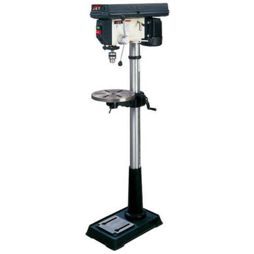 JET JDP-17MF 3/4 HP 16-1/2 in. 16-Speed Floor Mount Drill Press image number 0