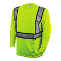 Dewalt DST921-XL ANSI 107-2010 Class 2 Long Sleeve FR T-Shirt (X-Large)