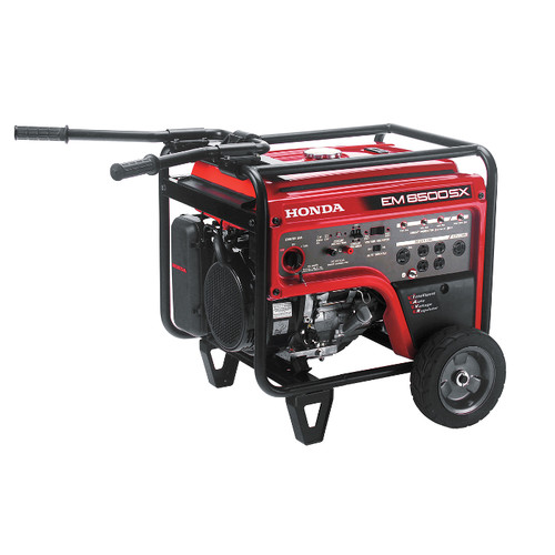 Honda EM6500S 6,500 Watt Portable Generator with iAVR Technology (CARB)