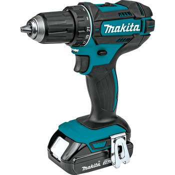 Factory Reconditioned Makita CT225R-R LXT 18V 2.0 Ah Cordless Lithium-Ion Compact Impact Driver and 1/2 in. Drill Driver Combo Kit image number 3