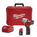 Factory Reconditioned Milwaukee 2462-82 M12 12V Cordless Lithium-Ion 1/4 in. Hex Impact Driver Kit