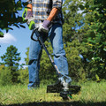 Greenworks 2100202 DigiPro G-MAX 40V Cordless Lithium-Ion 14 in. String Trimmer (Tool Only) image number 1