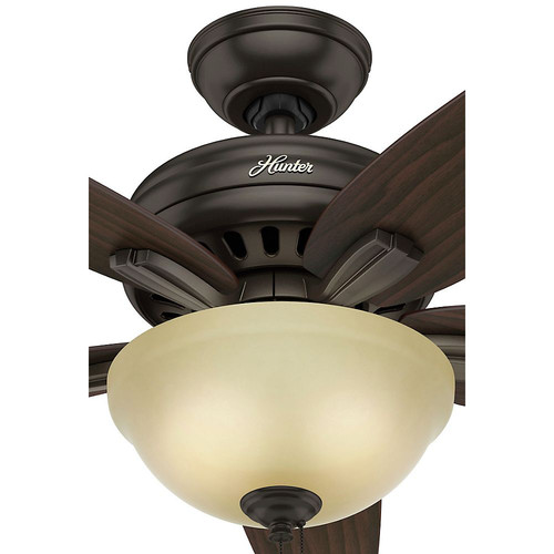 Hunter 51087 42 in. Newsome Premier Bronze Ceiling Fan with Light image number 8