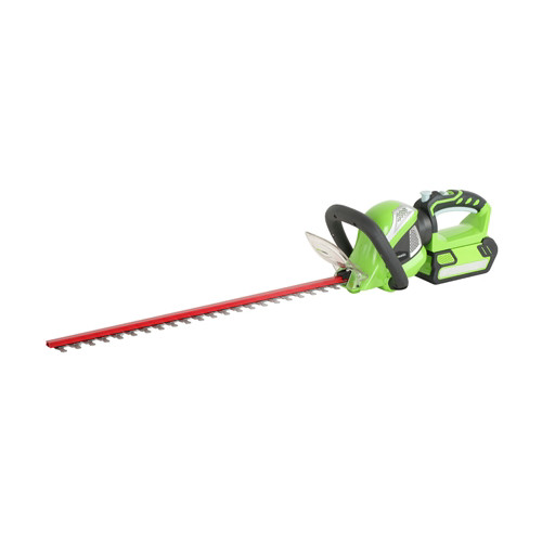 Greenworks 22352 40V Cordless Lithium-Ion 24 in. Rotating Hedge Trimmer