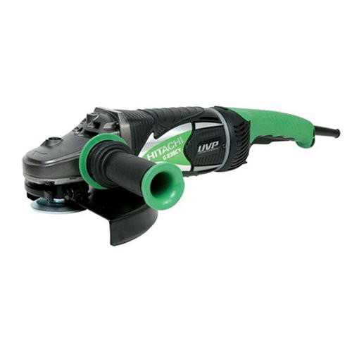 Hitachi G23SCY 15.0 Amp 9 in. Low Vibration AC/DC Angle Grinder